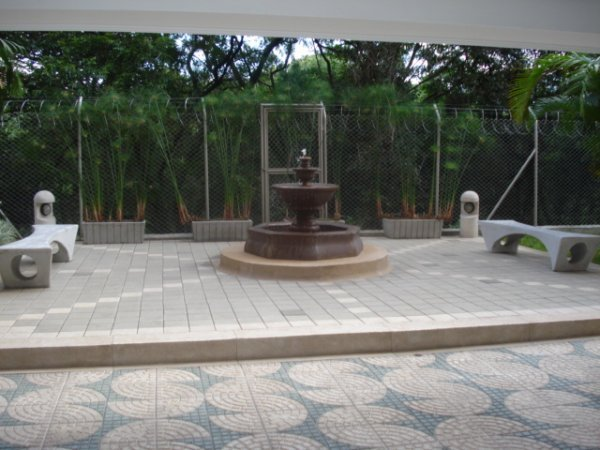 Fountain in Main Area